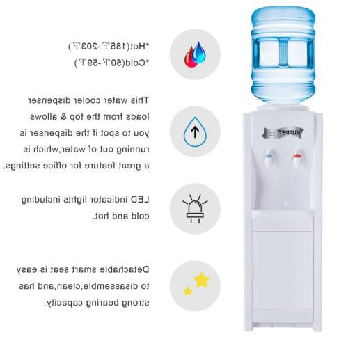 5 Loading Water Cooler Electric Hot/Cold Bottle Home Office