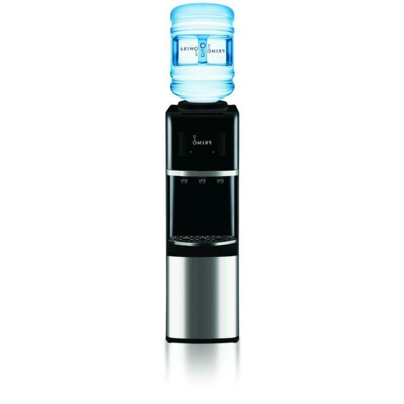 water cooler dispenser hot cold top load