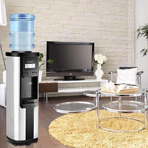 Costway Dispenser 5 Water Dispenser Freestanding Water and