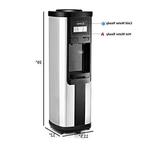 Costway Water Dispenser 5 Gallon Freestanding Cooler and