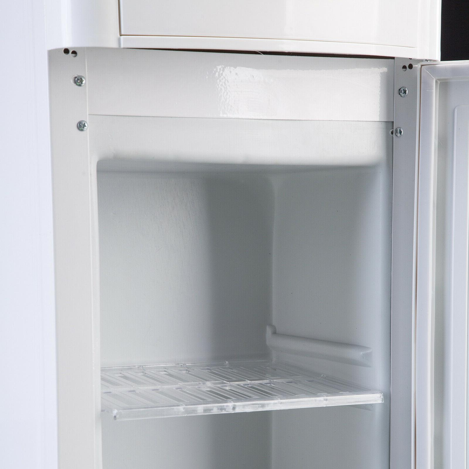 Water Cooler Dispenser Loading Hot/Cold Water