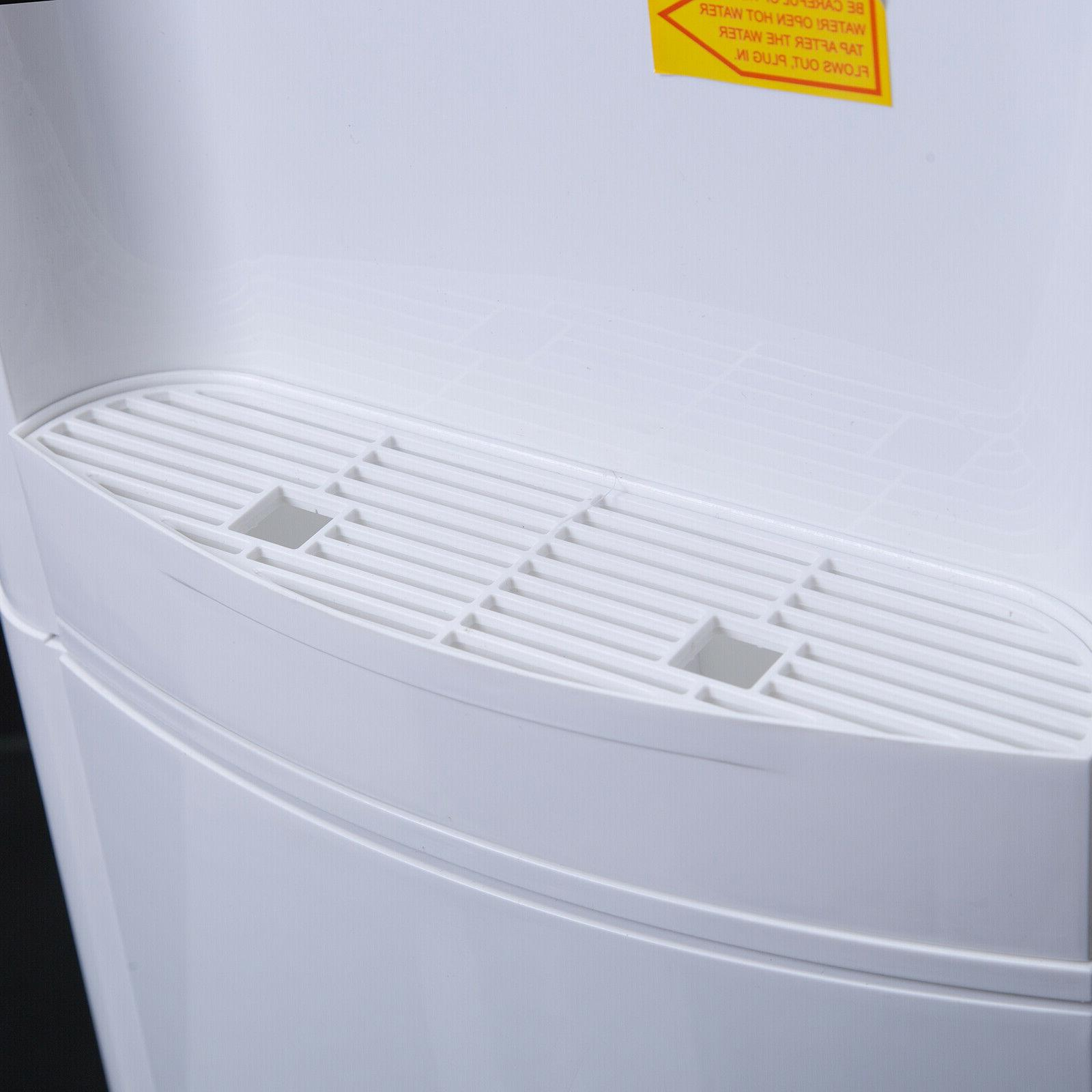 Water Cooler Dispenser Loading 5 Electric Hot/Cold Water White