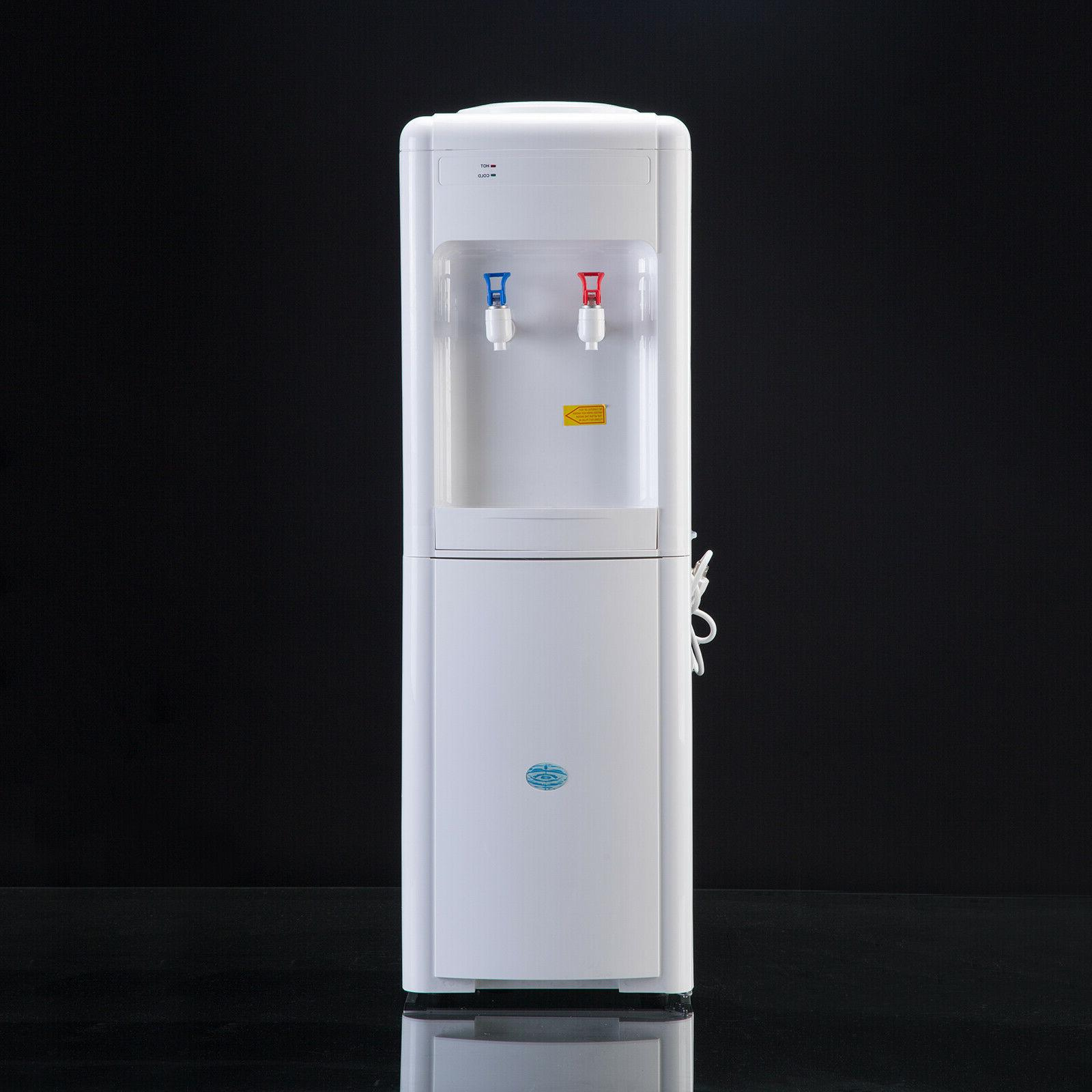 Water Dispenser Top Loading 5 Gallon Electric Hot/Cold White