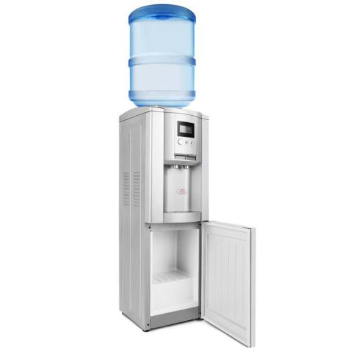 Water Cooler Dispenser Loading Stainless Cold Hot 5 Gallon Home Office