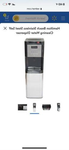 Hamilton Beach Water Dispenser, 3 and 5 Gallon, Stainless St