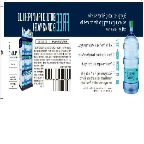 Primo Water Cooler, Gallon Bo