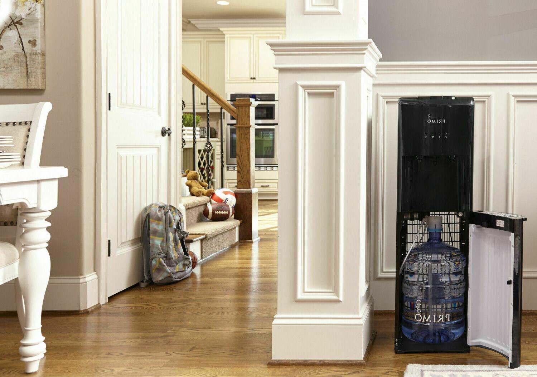 Primo Water Dispenser Loading Hot Cold Cooler Black or 5