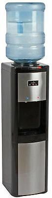 Water Dispenser Top Load Hot Cold and Room Temperature in Bl