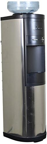 wcd-110ss hot and cold water cooler, silver