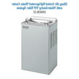 ELKAY LWAE8L1Z AIR COOLED REFRIGERATED WATER COOLER, NEW, $1