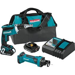 Makita 18V LXT 2 Ah Li-Ion Cordless Screwdriver Cut Out Saw
