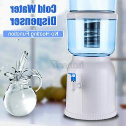 Mini Water Cooler Dispenser Stand 3 4 5 Gallon Cool Waters B