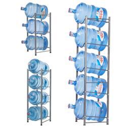 New 3/4/5 Tier Water Cooler Jug Rack Water Bottle Storage Ra