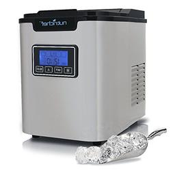 OpenBox NutriChef  Digital Ice Maker , Stainless Steel 3 Siz