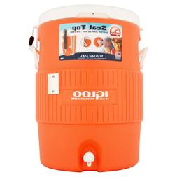 Outdoor 5 Gallon Water Cooler w/Seat Cover - good for summer