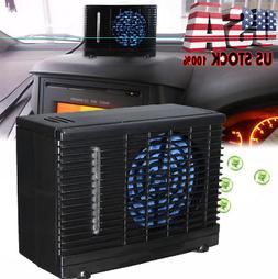 Portable 12V Car Home Mini Air Conditioner Evaporative Water