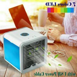 Portable Mini Desktop Air Conditioner USB Small Fan Cooling