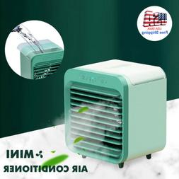 Portable USB Mini Rechargeable Water-cooled Air Conditioner