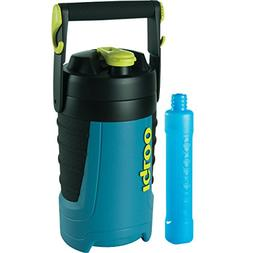 Igloo Proformance 1/2 Gallon with Freeze Stick, Ice Blue/Bla