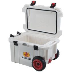 Pelican ProGear 45 Quart Elite Wheeled Cooler - White