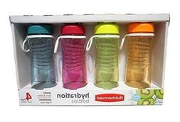 Rubbermaid Refill, Reuse 20-Ounce Chug Bottle, 1 Pack of 4 A