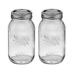 1 - 32oz Regular Mouth Ball Canning Mason Jar