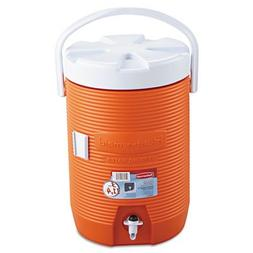 RHP1683ORG - Water Cooler, 12 1/2dia X 16 3/4h, Orange