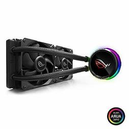 ASUS ROG RYUO 240 RGB AIO Liquid CPU Cooler 240mm Radiator D