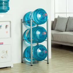 3-Tier Water Rack Stainless Steel Heavy Duty Water Cooler Ju