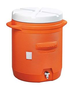 Rubbermaid 161001 11 10-Gallon Orange Water Cooler
