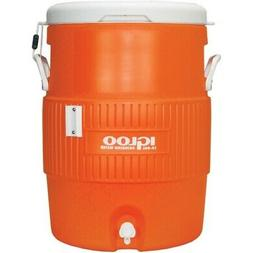 Igloo 10 Gallon Seat Top Beverage dispenser with spigot and