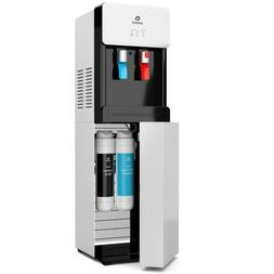 Self-Cleaning Water Cooler Dispenser w/ Hot Cold Water Filte