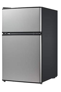 Midea SS 3.1 CF Full-Size Double Reversible Door Refrigerato