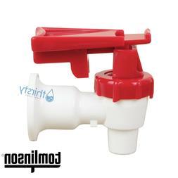 Sunbeam Water COOLER Spigot Faucet Dispenser Valve RED Tomli