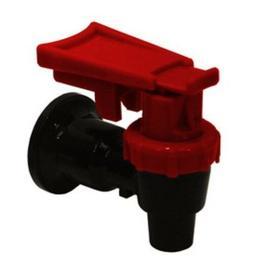 Tomlinson Water Cooler Faucet Spigot Dispenser Valve Red Saf
