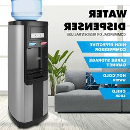 Top Loading 5 Gallon Stainless Steel Water Cooler Dispenser