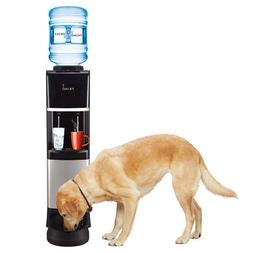 Primo Top Loading Water Cooler With Pet Station, Hot and Col