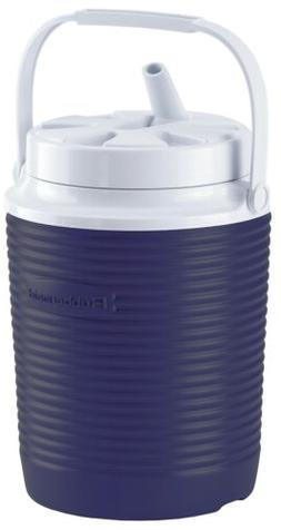 Rubbermaid Victory Jug, 1gal, 8 1/3dia x 11h, Blue/White