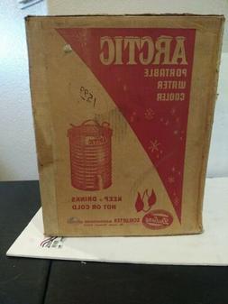 Vintage Schlueter ARCTIC DELUXE 10 Gallon Portable METAL Wat