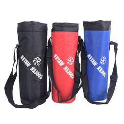 Water Bag Drawstring Water Bottle Pouch Insulated Cooler Bag