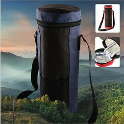 Water Bottle Cooler Sleeve Insulated Tote Bag Holder Carrier