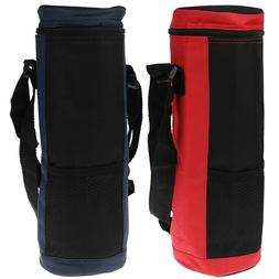 Water Bottle Cooler Tote Bag Insulated Holder Carrier Cover