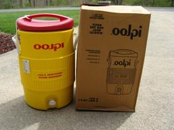 Igloo Water Cooler 5 Gallon Insulated Brand New in Box Yello