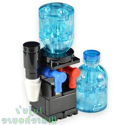 Water Cooler with Extra Water Bottle Custom Creation MOC - M