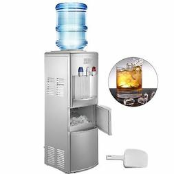 Water Cooler Dispenser With Ice Maker Hot And Cold Top Loadi