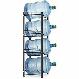 Water Cooler Jug Rack 4-Tier Bottle Storage 5 Gallon Jugs De