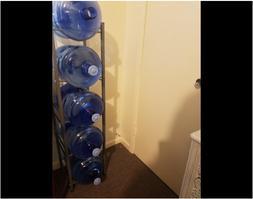Water Cooler Jug Rack, 5 Gallon Water Bottle Storage Rack De