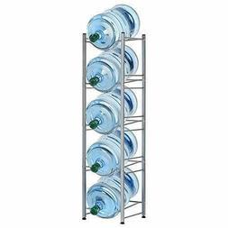 Water Cooler Jug Rack 5 Gallon Water Bottle Storage Detachab