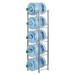 LIANTRAL Water Cooler Jug Rack, 5 Gallon Water Bottle Storag