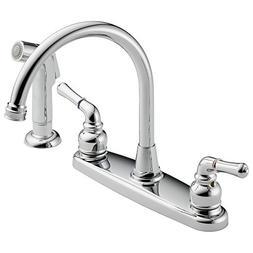 Westbrass Water Dispenser Hi-Arc 2-Handle Side Sprayer Kitch